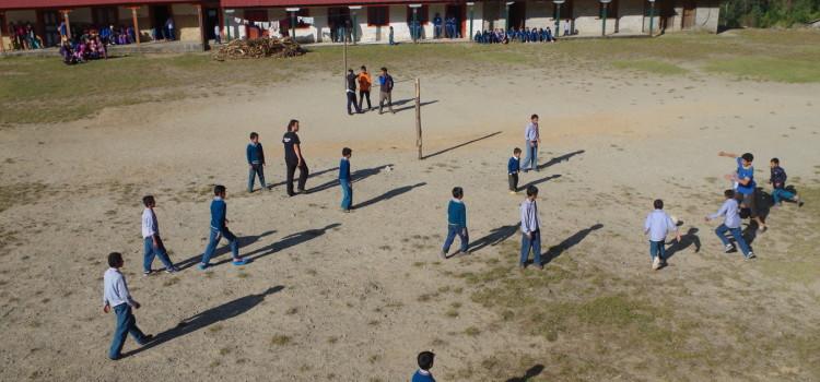Studenti a Nunthala