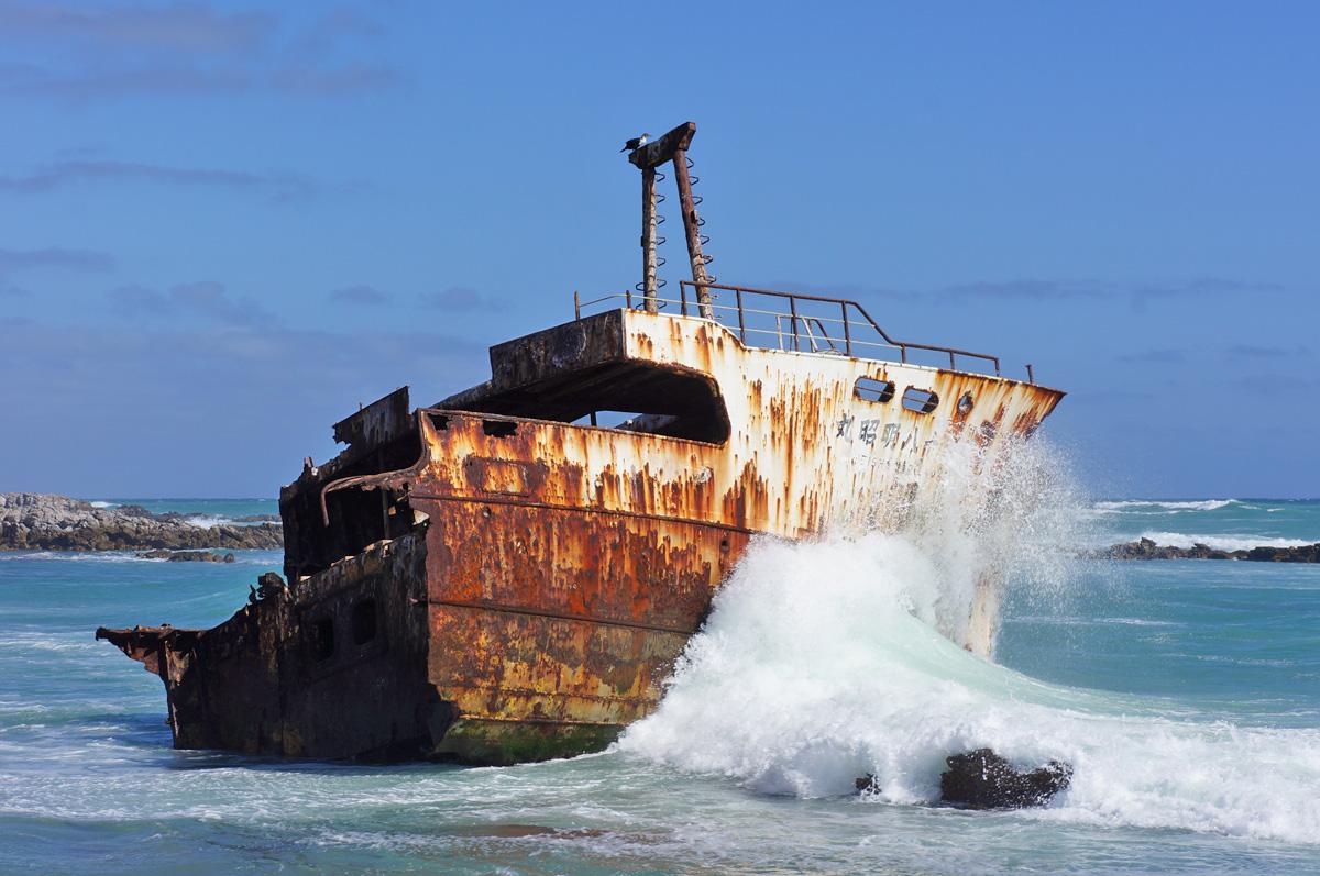 sento il fragore del mare - shipwreck