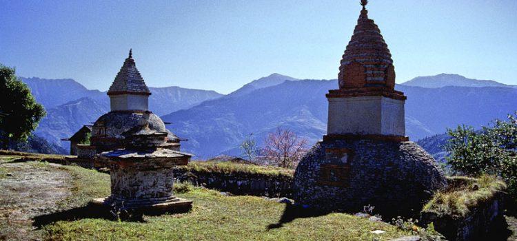 Stupa del villaggio di Junbesi