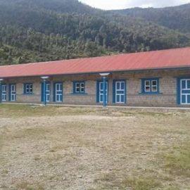 Scuola di Nunthala: ultimi ritocchi