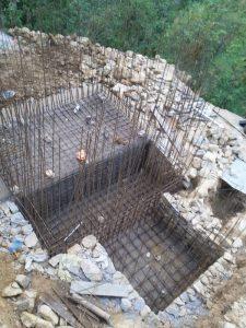Fondazioni della cisterna