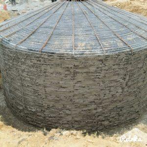 Cisterna costruita in loco