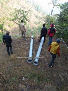 Trasporto dei tubi