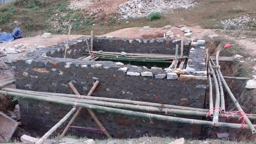 chukha-acquedotto-dicembre-2017-impalcature-cisterna