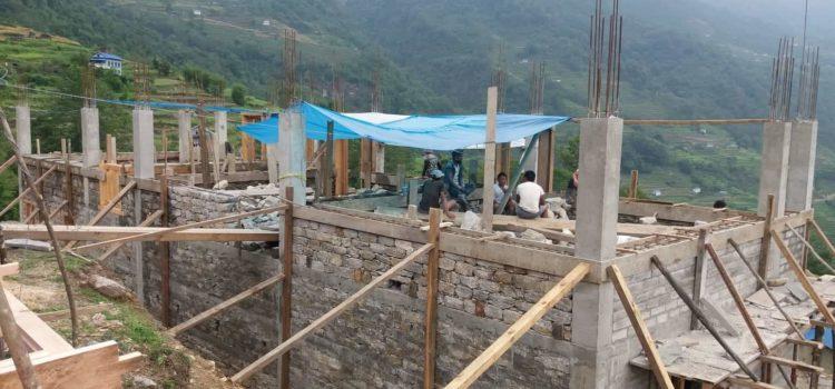 casa famiglia dil kumari - avanzamento lavori giugno 2019