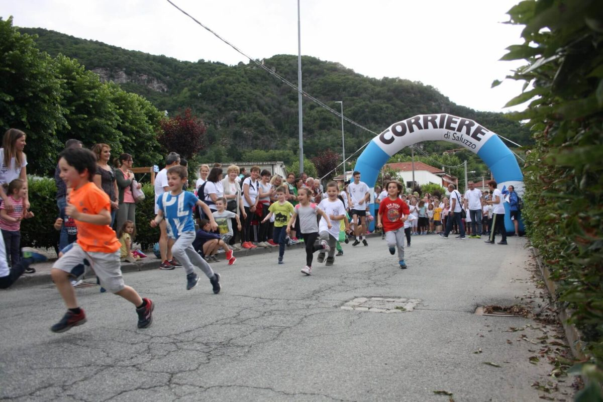 partenza gare bambini cecy for runners 2019