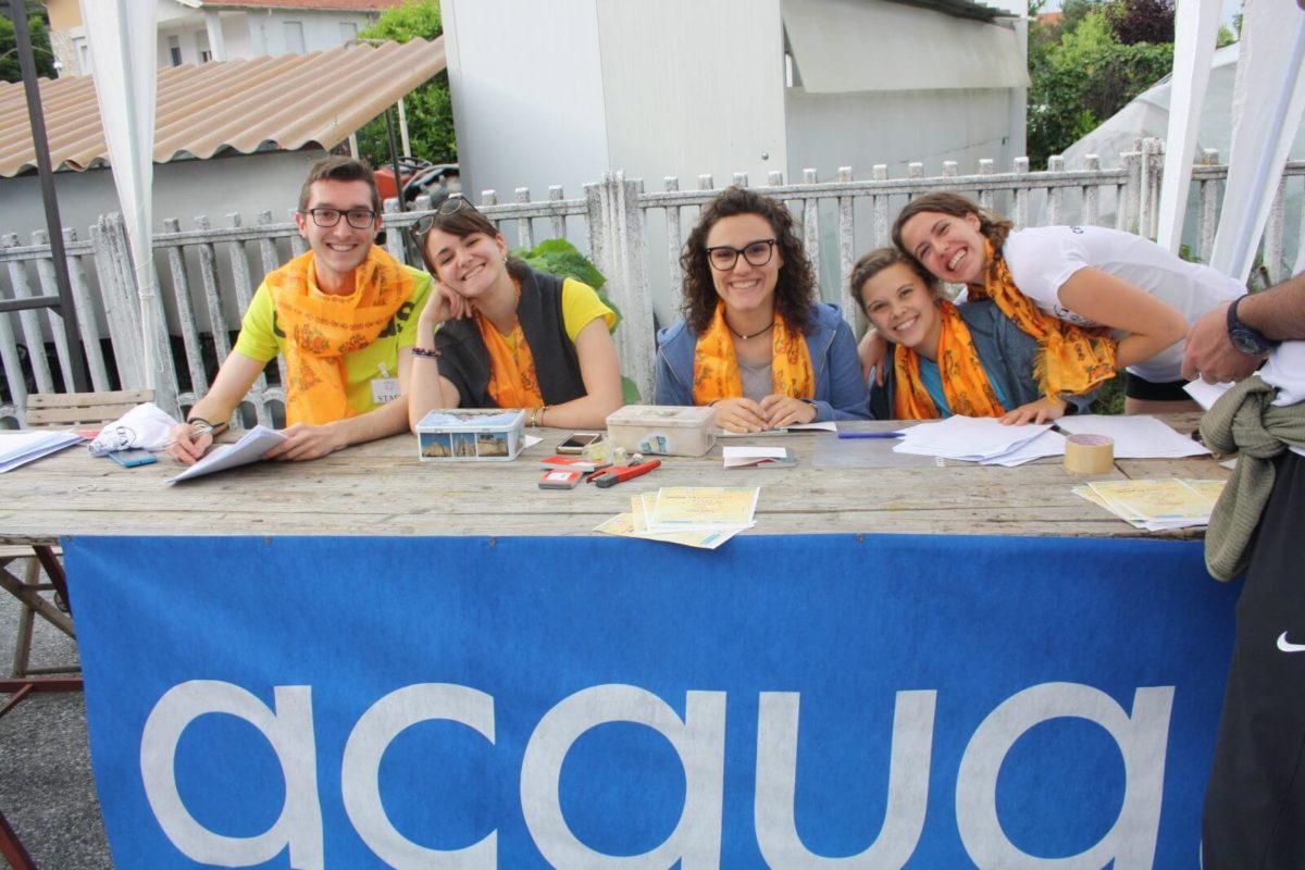 tavolo delle iscrizioni cecy for runners 2019