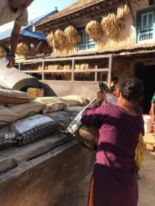 borse alimentari a Chukha